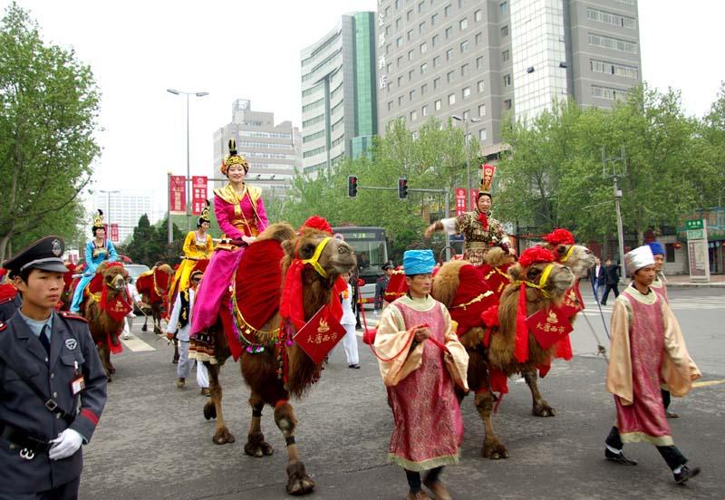 大唐西市国际古玩城开盘活动图片